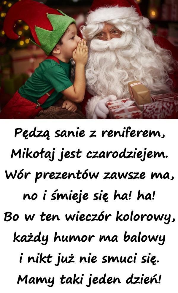 Wiersz Wigilia Memy święto Boże Narodzenie życzenia