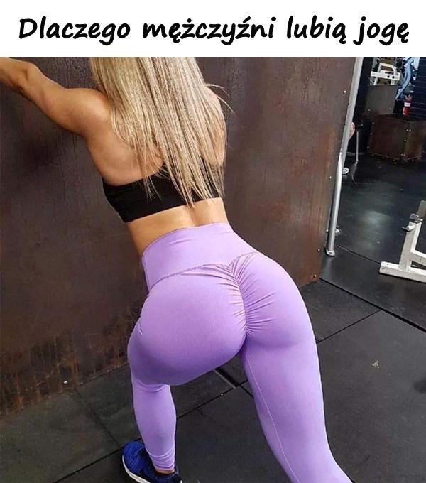 Dlaczego mężczyźni lubią jogę