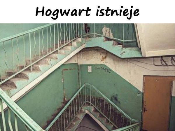 Hogwart istnieje