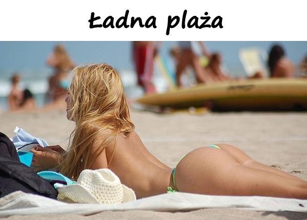 Ładna plaża