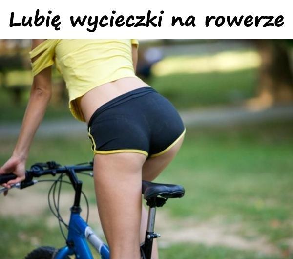 Lubię wycieczki na rowerze