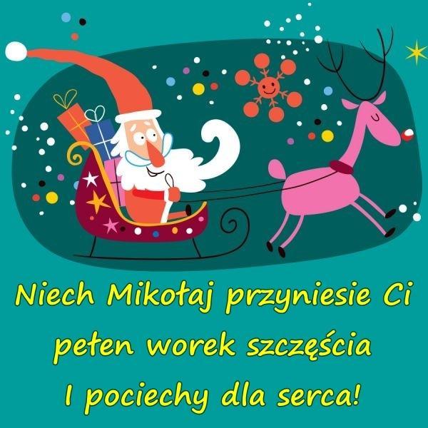 Wiersze życzenia Z Okazji Mikołajek Kartki Mikołajki