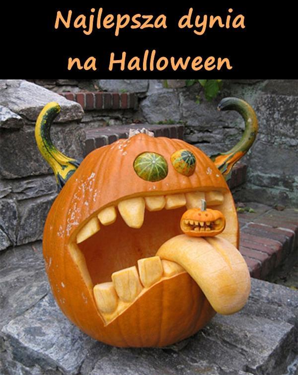 Najlepsza dynia na Halloween