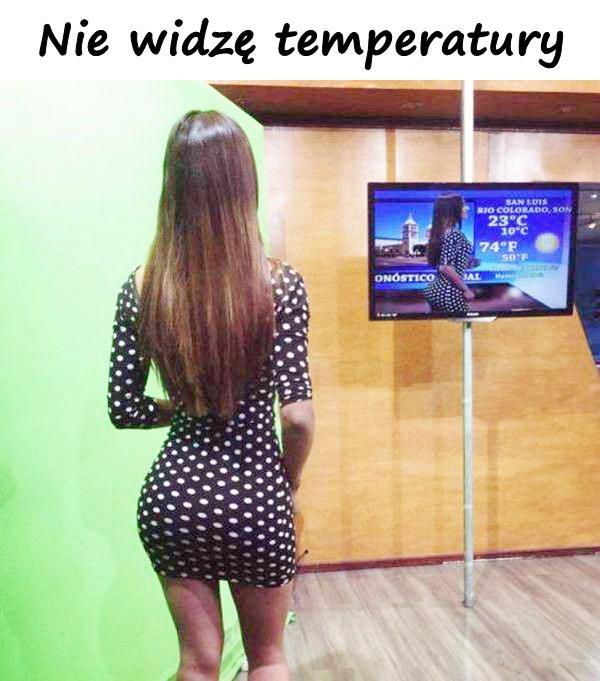 Nie widzę temperatury