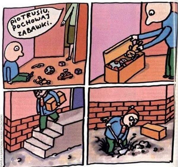 Pochowaj zabawki