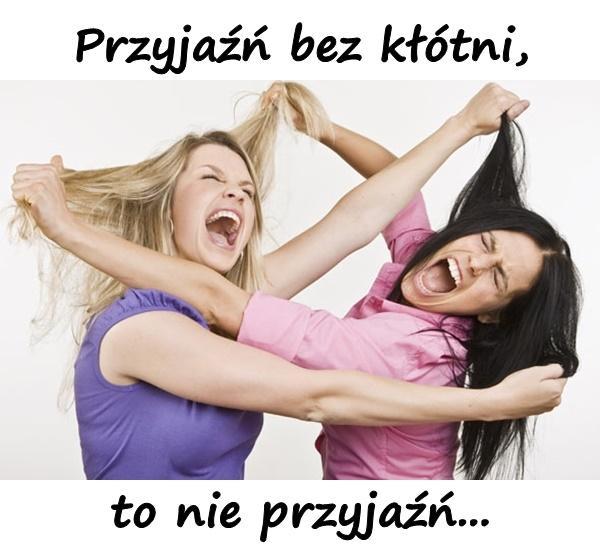 Przyjaźń bez kłótni, to nie przyjaźń...