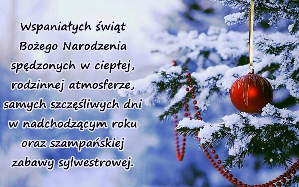 Boże Narodzenie święta życzenia Bożenarodzeniowe Besty 4