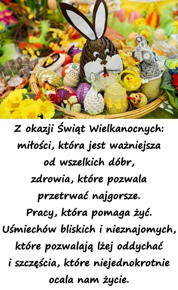 Wiersz Na Facebooka Wielkanoc życzenia Wielkanocne